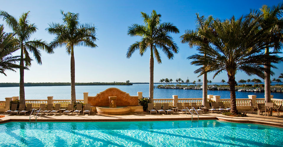 Cape Coral, FL Poolside - Island Coast Transportation